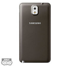 Genuine Samsung GT-N9000 Galaxy Note 3 Battery Door Leather Back Cover Case