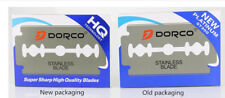 1000 Dorco Blue Double Edge Razor Blades Platinum Plus-BRAND NEW-FAST SHIP