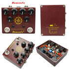Demonfx King Overdrive Guitar King Distortion Effect Pedal BOOST DISTORTION New