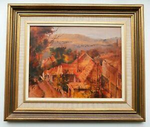 Alex McMillan (1910-87) Original Oil Painting - Road to Balmoral