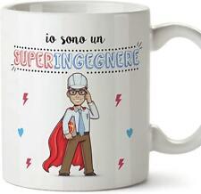 Tazza MUG Ingegnere (Supereroi) Idee Regali Originali Ingegneria
