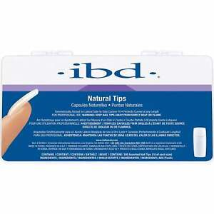 IBD - Perfect Natural Tips (Pack Of 100) (52300)