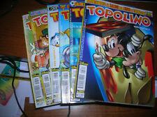 6 Fumetti di Topolino Mondiale SudAfrica 2010  in ottimo stato