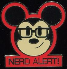 Mickey Expressions Mystery Collection Nerd Alert Disney Pin 101996