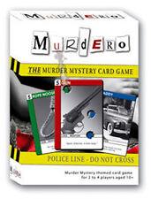 Murdero! el Crimen Y Misterio Juego De Cartas