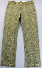 LEVIS 513 Mens MILITARY CAMO CAMOUFLAGE SLIM STRAIGHT TROUSER PANTS NWT 31 x 32
