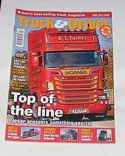 TRUCK & DRIVER APRIL 2012 - TOP OF THE LINE/BEST OF BRITISH/JAPANESE ARTISTRTY