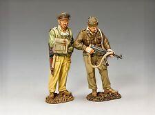 Segunda Guerra Mundial británico SAS LRDG Double Trouble Raiders Set EA114 Desierto Guerra