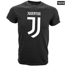 Juventus Negra Youth camiseta equipo Crest/nuevo logotipo Talles S-XL