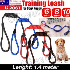 Dog Training Correction Leash Lead Cesar Puppy Pets Millan Slip Nylon Rope AU