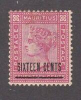 Mauritius stamp #79, MHOG, VVF, 1883, Queen Victoria, SCV  $115.00
