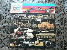 TAMIYA 1979 MODELS CATALOGUE,BIKES,CARS,TRUCKS,BRABHAM BT46 ALFA ROMEO,WOLF RACI