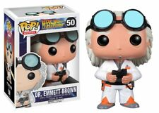 Funko Pop Movies: Back to the Future - Dr. Emmett Brown Vinyl Figure No. 3399