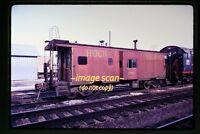 1973 RI Rock Island Caboose 17124, Original Slide c7b