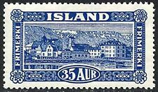 Iceland Lightly Hinged Stamps