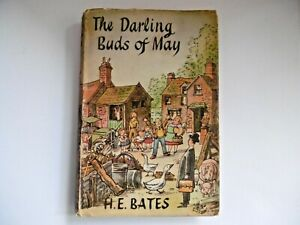The Darling Buds of May H. E. Bates The Book Club 1958 Hardback Dust Jacket