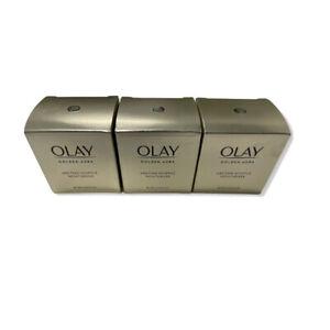 3 Olay Golden Aura Melting Soufflé Facial Creams .5 oz mini size