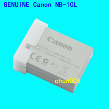 Genuine Canon NB-10L battery For G1X G3X G15 G16 SX40HS SX50HS SX60HS SX50 SX60
