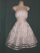 Vintage Betsey Johnson Punk Prom Party Dress S Wedding Madonna Cupcake Lolita