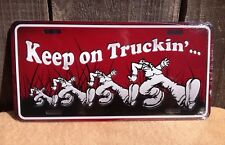 Keep On Trucking Wholesale Novelty License Plate Bar Wall Decor
