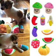 Mascota Cachorro Perro Gato Con Silbador Graznido Sonido Toy Para Morder Donut