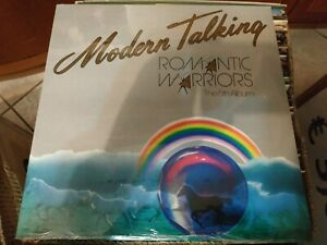 MODERN TALKING Romantic warriors LP SIGILLATO PRIMA STAMPA RIMANENZA DI NEGOZIO