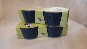 Set of 2 Le Creuset Stoneware Ramekins-Pots New Ink / Navy Blue 200ml