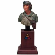 SOL RESIN FACTORY, MM126, 200mm, U.S. TANK CREW BUST (Base is Not Include)