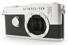 ●●N/Mint ●● OLYMPUS PEN-F 35mm Half Frame Film Camera Body FROM JAPAN I✈FedEx