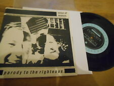 "7"" Punk Voice Of Reason - Parody To The Righteous (3 Song) MIND'S EYE / US"