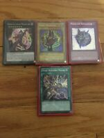 YUGIOH Dark Magician + Magician Girl Deck - Circle - Burning Magic - Near Mint!