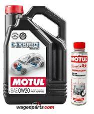 Aceite motores hibridos gasolina, Motul HYBRID 0W20 Toyota, 4 L Engine clean