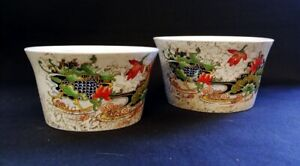 2 x Ant c1930 Phoenix Ware Forrester Hainan Pattern Bowls   FREE Delivery UK*