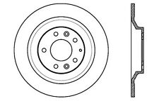 SportStop XDrilled & Slotted Rotor fits 2006-2007 Mazda 6  STOPTECH