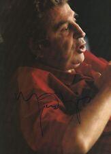 Mikis Theodorakis Autogramm signed A4 Magazinbild