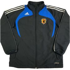 Adidas Japan National Team Soccer Jacket Football Black Blue Mens Large JFA
