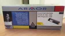 Cartouche compatible ARMOR Jaune L123 pour Epson AC 900,1900 / NEUF