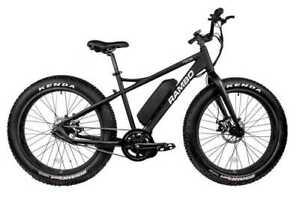 2020 Rambo Electric Bike  Savage 750 G4 Black-Charcoal  750W Free Accessories
