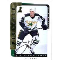 Joe Nieuwendyk Autographed 1997 Pinnacle Card