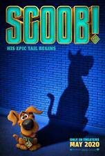 Scoob! Original Movie Poster Double Sided Advance Style - Wahlberg Efron Grace