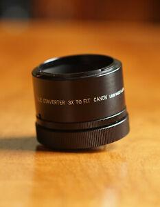 Soligor Auto Tele Converter 3x for Canon FD lenses Made In Japan