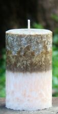 200hr COOKIES & CREAM Triple Scented Large PILLAR CANDLE Natural Coconut Wax