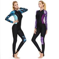 Women's Stretch Full Body Wetsuit Surf Swim Diving Steamer Wet Suit 2019