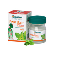 Himalaya Herbal Pain Balm STRONG | Ayurvedic Pain Reliever Balm 2 X 45g free sp