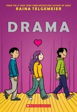 Drama by Raina Telgemeier (2012, Trade Paperback)