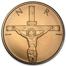 1 onza copper round jesús shekel crucifixion 999,99