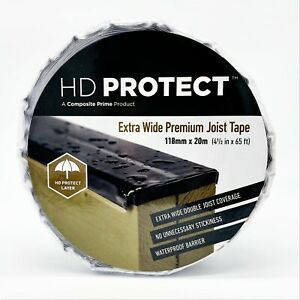 Extra Wide 118mm Joist Tape, Perfect for Decking, HD Protect Does The Job