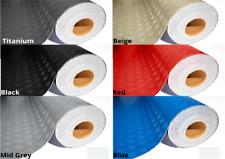PVC Flooring Checker GARAGE SHEETING Rubber MATTING  2mm - 2.0m Medium Pattern
