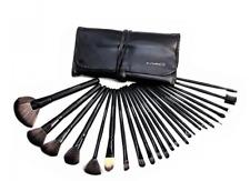 MAC Makeup Brush Set kit  Cosmetic Foundation pencil brushes -24Pcs Black color