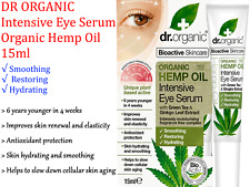 DR ORGANIC Intensive Eye Serum Organic Hemp Oil 15ml with Green Tea & Ginko